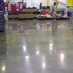 Distribution Center Polished Concrete