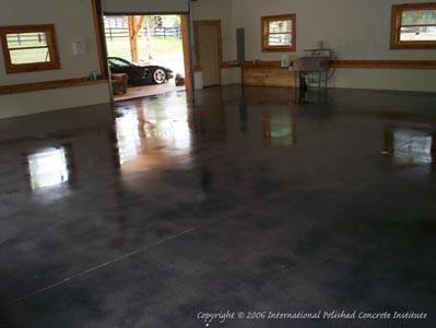Garage Church Polished Flooring