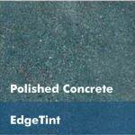 Turquoise Concrete Floor
