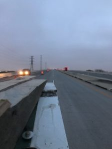 repairing a bridge