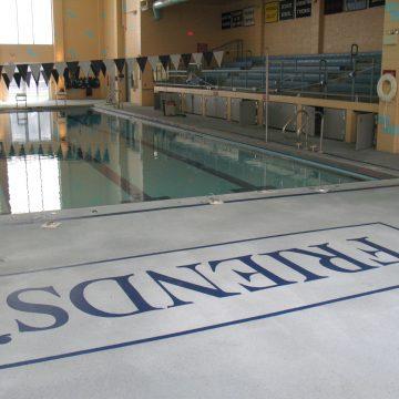 Acrylic Pool Deck