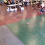 Damaged Floor
