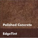 Chocolate Brown Concrete Floor