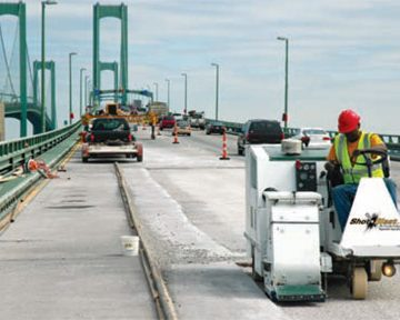 Project on the Delaware Memorial Bridge