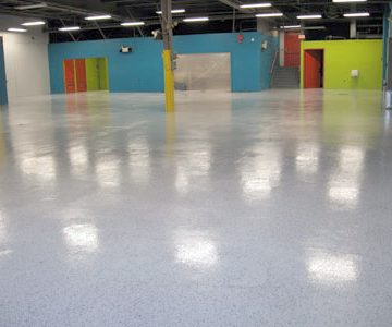 Floor with Coating