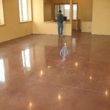 surface polishing DE