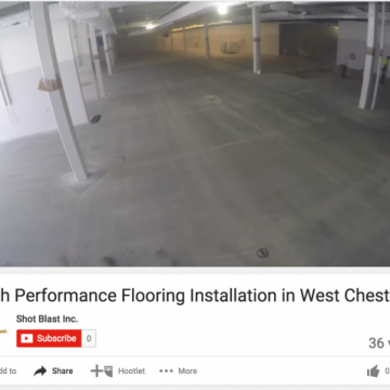 High Performance Flooring Installation