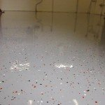 Sealed Concrete Floor