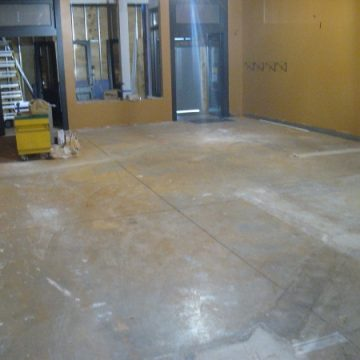 Damaged Concrete Floor