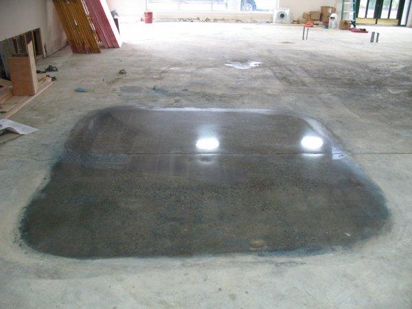 Sanding Concrete Floor Before Staining Mycoffeepot Org