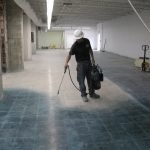 Concrete Staining Application