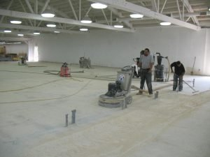 Concrete Grinding and Densification