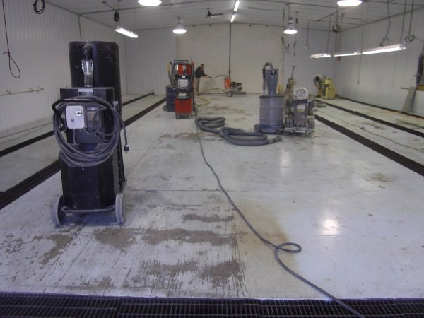 PA Concrete Repair Before
