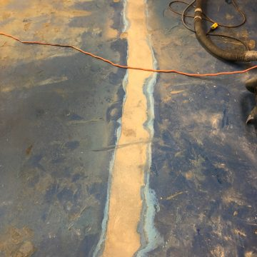 epoxy floor removal