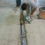 concrete joint repair