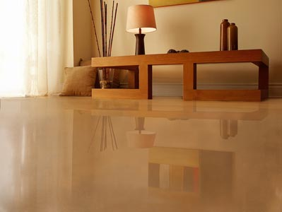 Polished Concrete Floors In Residential Homes