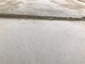 removing self-leveling concrete
