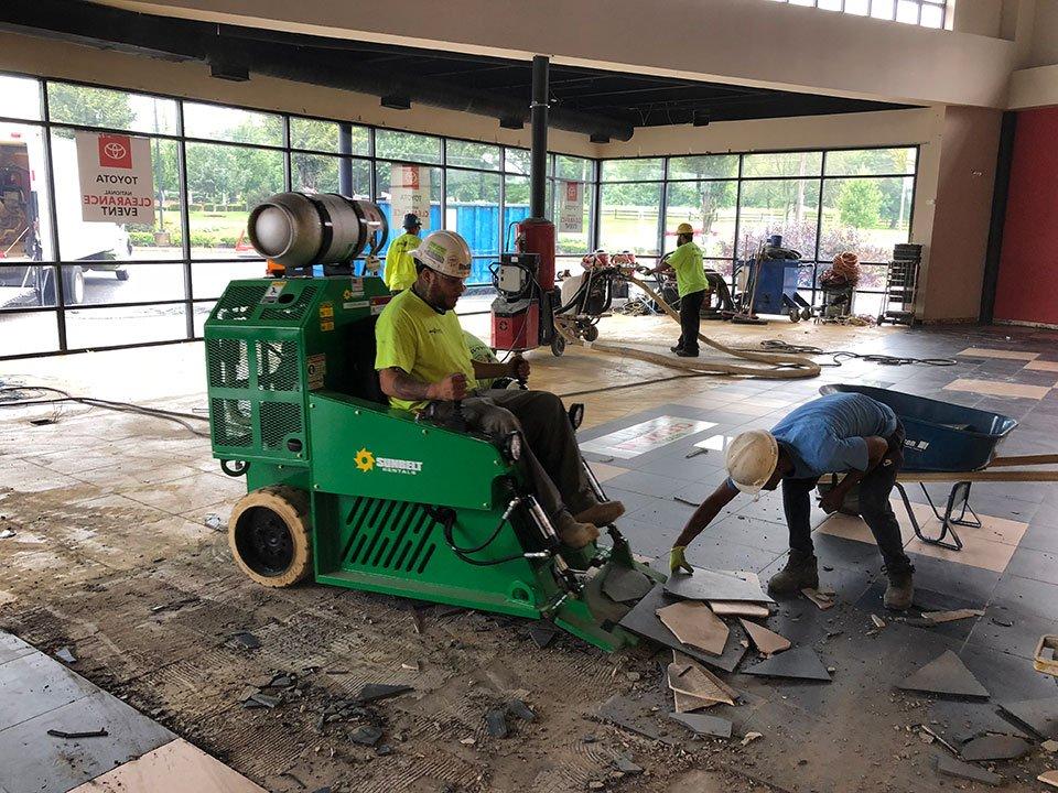 tile floor scraper