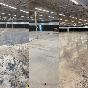 tile removal process