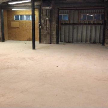 Wilmington grind & seal concrete floor project